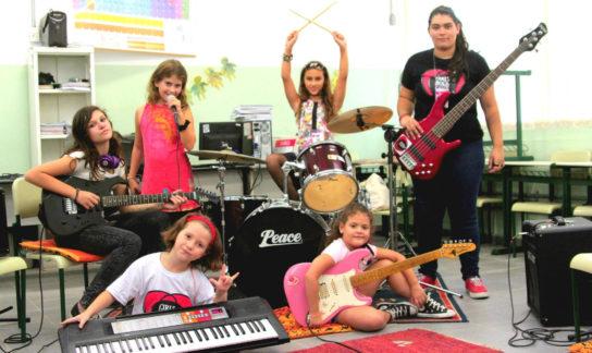Meninas do Girls Rock Camp Sorocaba - girlsrockcampbrasil.org